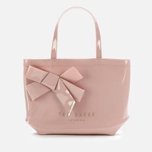 Ted Baker Women's Nikicon Knot Bow Small Icon Bag - Pl-Pink