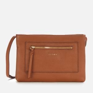 Ted Baker Women's Calitaa Zip Detail Cross Body Bag - Brown