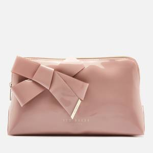 Ted Baker Women's Nicco Knot Bow Washbag - Pale Pink