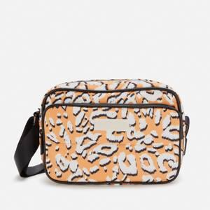 Ted Baker Women's Niqita Leopard Detail Puffer Nylon Camera Bag - Yellow