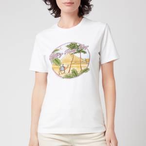 PS Paul Smith Women's Printed T-Shirt - White