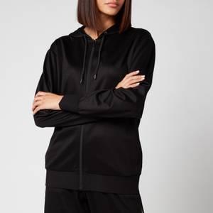 PS Paul Smith Women's Stripe Hoodie - Black