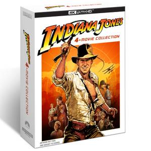 Indiana Jones : Collection 4 Films 4K Ultra HD + Blu-ray en Exclusivité Zavvi