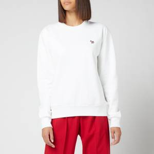 PS Paul Smith Women's Zebra Sweatshirt - White