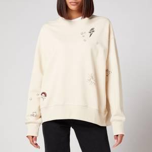 PS Paul Smith Women's Doodle Print Sweatshirt - Beige