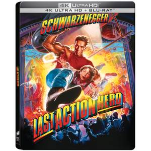Last Action Hero - 4K Ultra HD Zavvi Exclusive Steelbook (Includes 2D Blu-ray)