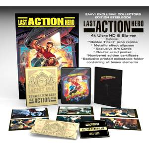 Last Action Hero - Steelbook 4K Ultra HD Édition Collector en Exclusivité Zavvi (Blu-ray 2D inclus)