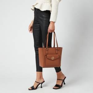MICHAEL Michael Kors Women's Joey Md Pocket Tote Bag - Luggage