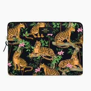 """Wouf 13"""" Laptop Case - Lazy Jungle"""