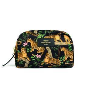 Wouf Beauty Bag - Large - Lazy Jungle