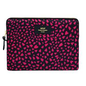 Wouf iPad Case - Black Hearts