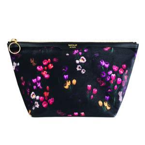 Wouf Velvet Beauty Bag - Tulips