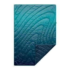 Rumpl Printed Original Puffy Blanket - Ocean Fade