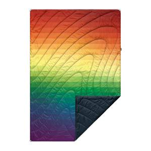 Rumpl Printed Original Puffy Blanket - Rainbow Fade