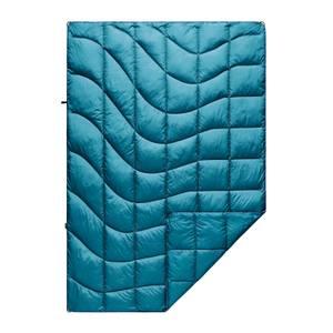 Rumpl Solid Nanoloft Puffy Blanket - Harbor Blue