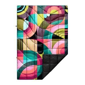 Rumpl Printed Nanoloft Puffy Blanket - Chromatic Voyage - Jessie & Katey