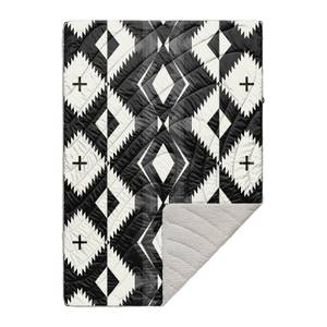 Rumpl Printed Sherpa Puffy Blanket - Woven Daydream