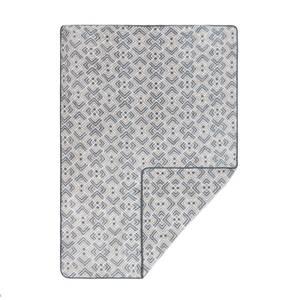 Rumpl Printed Sherpa Fleece - Kaleidoscope - Stone