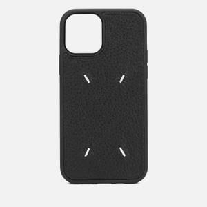 Maison Margiela Men's iPhone 12 Pro Case in Deer Leather