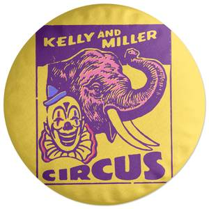 Kelly And Miller Circus Round Cushion