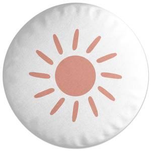 Sun Round Cushion