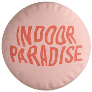 Indoor Paradise Round Cushion