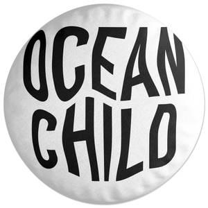 Ocean Child Round Cushion