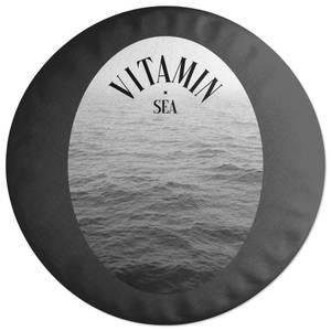 Vitamin Sea Round Cushion