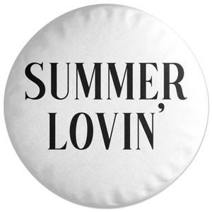 Summer Lovin' Round Cushion