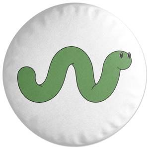 Worm Round Cushion