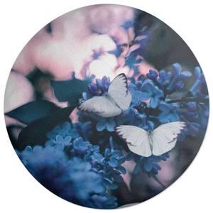 Butterflies Round Cushion