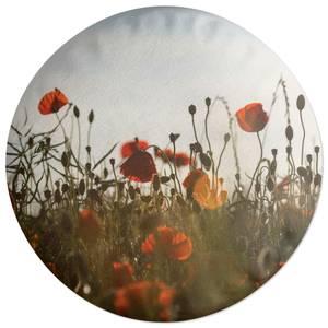 Summer Flowers Round Cushion