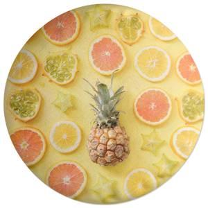 Vitamin C Round Cushion