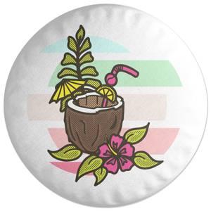 Pina Colada Round Cushion