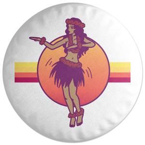 Hula Dance Round Cushion