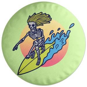 Surfs Up! Round Cushion