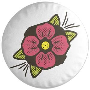 Summer Flower Round Cushion