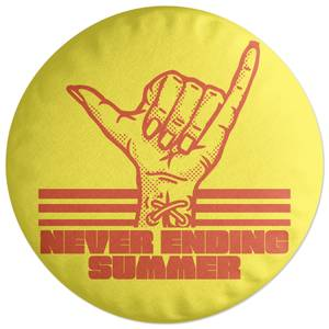 Never Ending Summer Round Cushion