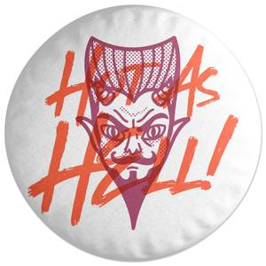 Hot As Hell Round Cushion