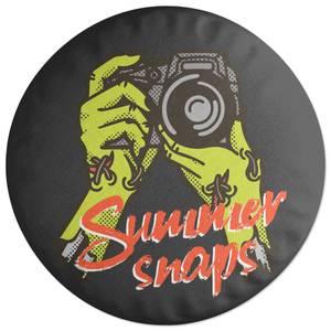 Summer Snaps Round Cushion