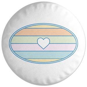 One Love Round Cushion