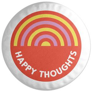 Happy Thoughts Round Cushion