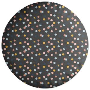 Confetti Round Cushion