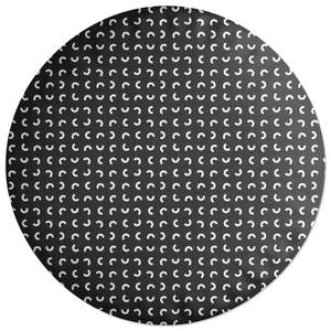 Squiggles Round Cushion