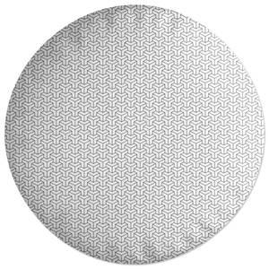 Cubes Round Cushion