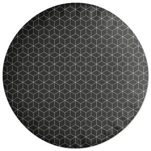 Hexagon Round Cushion