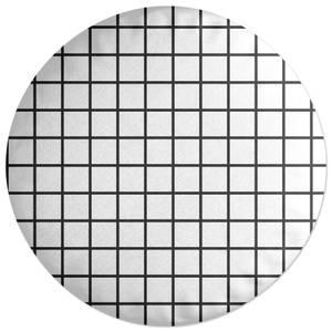 Grid Round Cushion