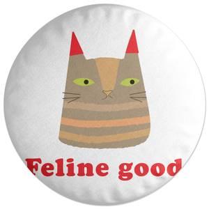 Feline Good Round Cushion
