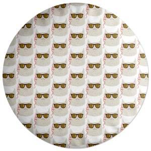 Cool Cat Round Cushion