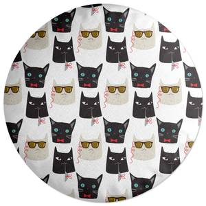 Cool Cats Round Cushion